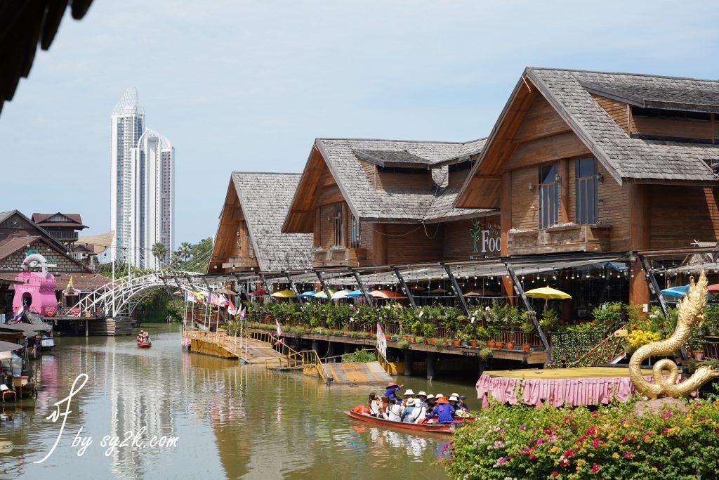 ตลาดน้ำ ๔ ภาค พัทยา 芭堤雅四方水上市场