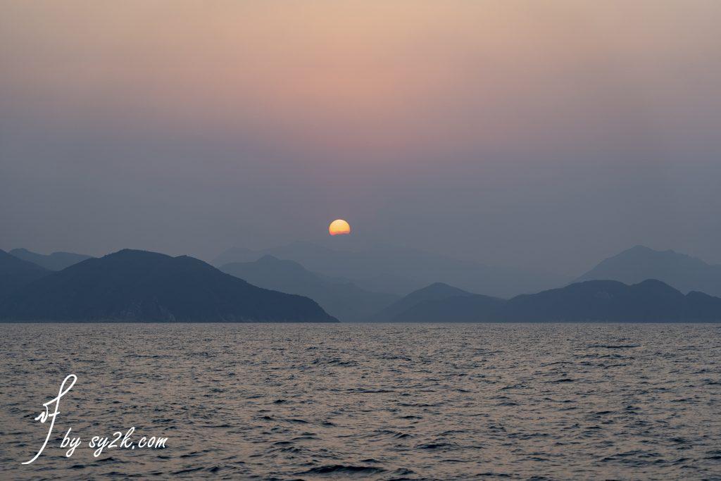 東平洲日落